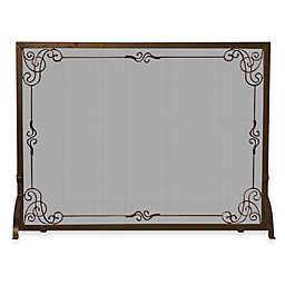 Outstanding Panel Fireplace Screen Bed Bath And Beyond Canada Home Remodeling Inspirations Genioncuboardxyz