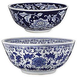 A&B Home Aline Ceramic Bowls (Set of 2)