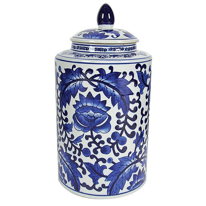 Alternate image 1 for A&B Home Aline Tall Ceramic Jar