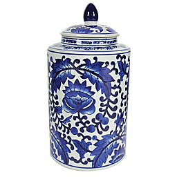 A&B Home Aline Tall Ceramic Jar