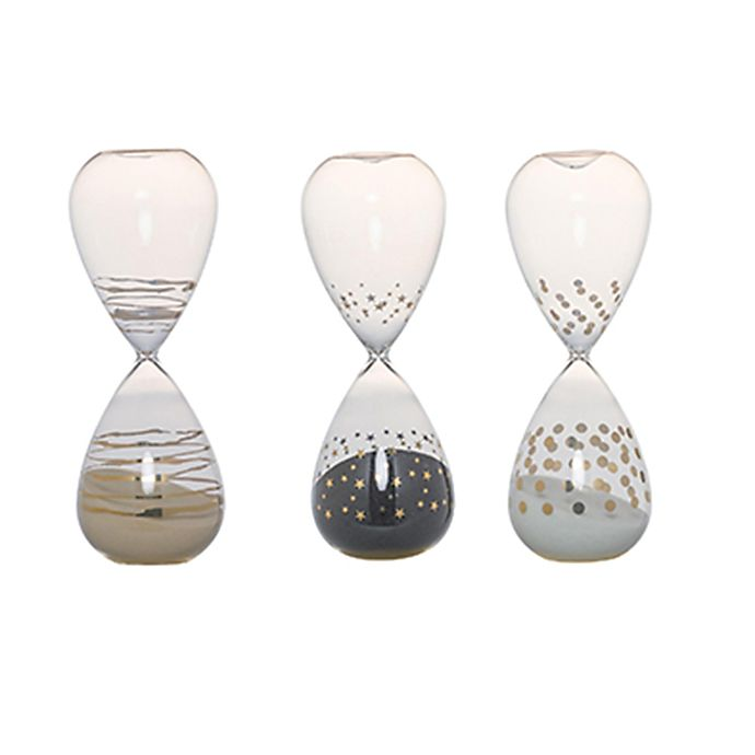 Alternate image 1 for A&B Home Dixie Hourglasses in White (Set of 3)