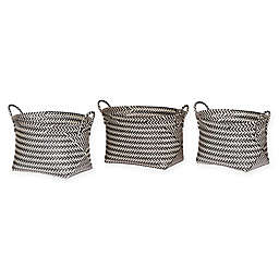 A&B Home Organic Elements Storage Baskets (Set of 3)
