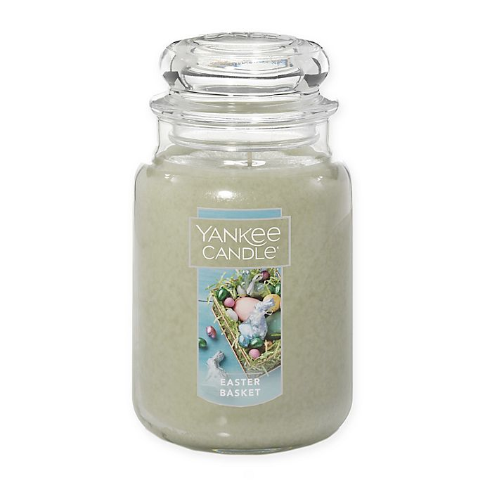 Alternate image 1 for Yankee Candle® Easter Basket 22 oz. Large Classic Jar Candle