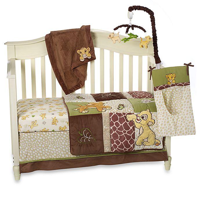Disney Baby 174 Lion King Go Wild Crib Bedding Collection