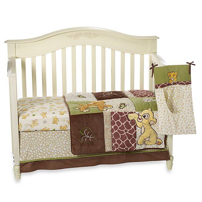 Go Bed And Bath: Disney Baby® Lion King Go Wild 4-Piece Crib Bedding Set
