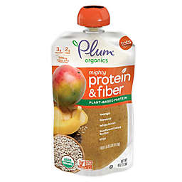Plum Organics Mighty Protein and Fiber Mango/Banana/White Bean/Sunflower Seed/Chia Pouch