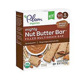 Plum Organics® 5-Pack Mighty Nut Butter Bar in Almond Butter