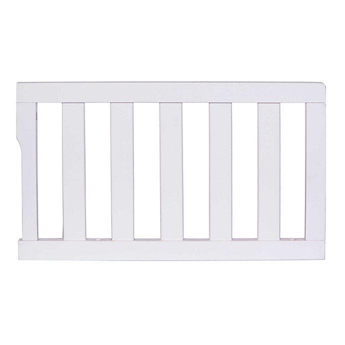 Alternate image 1 for Dream On Me Universal Convertible Crib Toddler Guard Rail in White