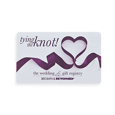 """tying the knot!"" Gift Card"