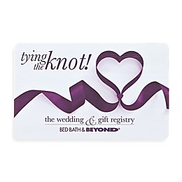 """""""tying the knot!"""" Ribbon Heart Gift Card"""