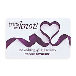 """tying the knot!"" Ribbon Heart Gift Card"