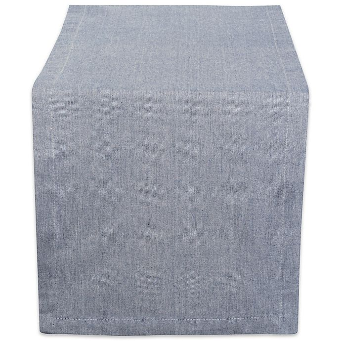 Alternate image 1 for Design Imports Chambray Table Runner