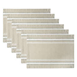 French Stripe Placemats (Set of 6)