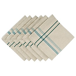 Design Imports French Stripe Napkins (Set of 6)