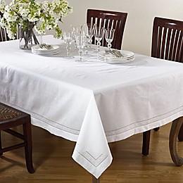 Saro Lifestyle Swiss Dot Table Linen Collection