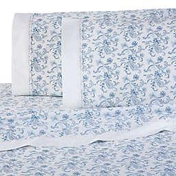 Martex Provence Lace Hem Sheet Set
