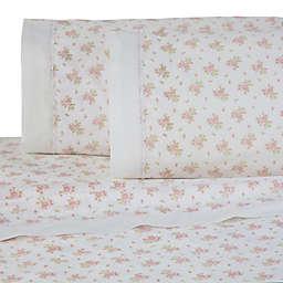 Martex Rose Garden Lace Hem Sheet Set