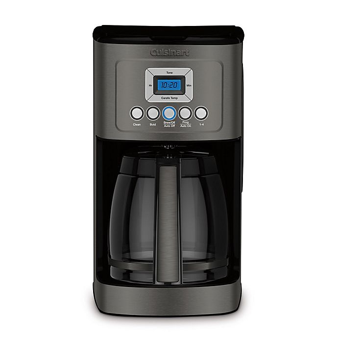 Alternate image 1 for Cuisinart® Programmable 14-Cup Coffee Maker in Black