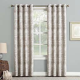 Sun Zero® Darren 95-inch Grommet Room Darkening Window Curtain Panel in Camel (Single)