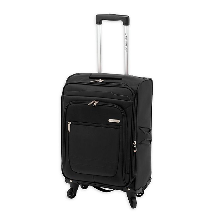 Alternate image 1 for Traveler's Club® Voyager II 20-Inch Spinner Carry On Luggage