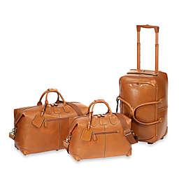 Bric's Pelle Duffle Luggage Collectionin Cognac