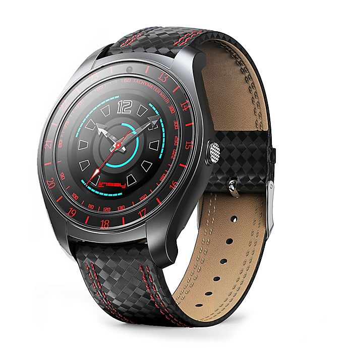 Alternate image 1 for Linsay® EX-7 Heavy Duty Smart Watch in Red