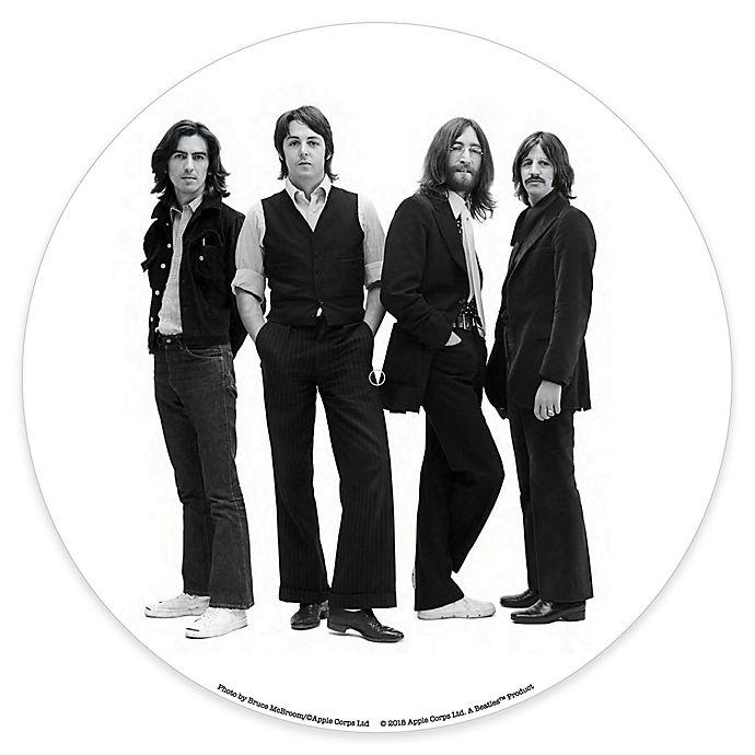 Alternate image 1 for Crosley Beatles Record Player Platter Pad in Black