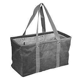 Crosshatch Picnic Caddy in Charcoal