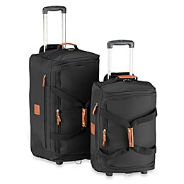 Bric's Xtravel Rolling Duffle Bag Collection in Black