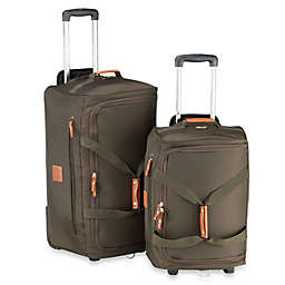 Bric's Xtravel Rolling Duffle Bag Collection in Olive
