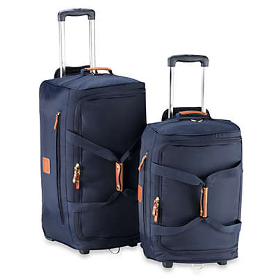 Bric's Xtravel Rolling Duffle Bag Collection in Navy
