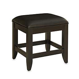 Home Styles Bedford Vanity Bench in Black