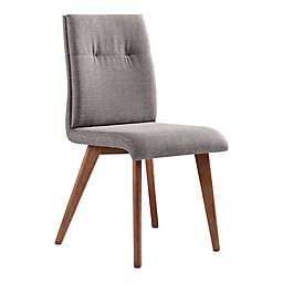 Armen Living Noble Dining Chair in Grey