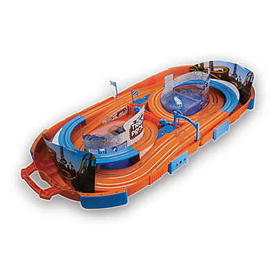 KidzTech Hot Wheels Electric 9.1-Foot Race Track Playset