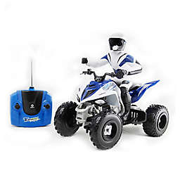 KidzTech 1:6 Scale Remote Control Yamaha Raptor 700R in Blue