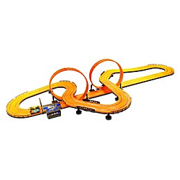 KidzTech Mattel® Hot Wheels™ 30-Foot Slot Track in Orange
