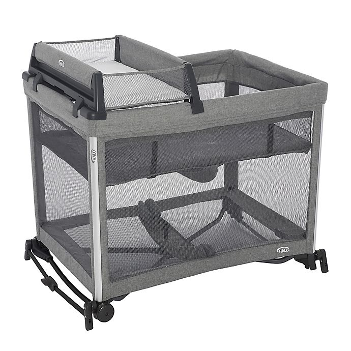 Alternate image 1 for HALO® DreamNest™ 3-in-1 Open Air Portable Crib with Breathable Mesh Mattress