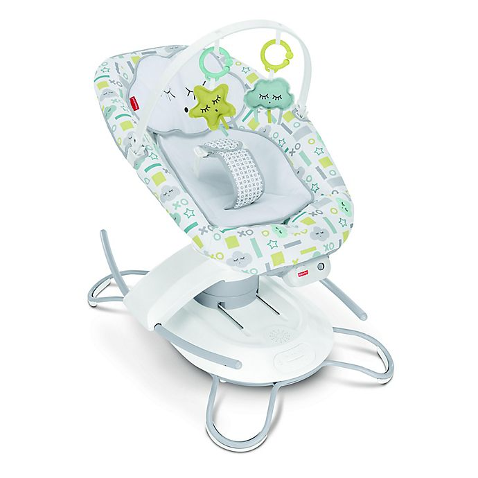 Alternate image 1 for 2-in-1 Deluxe Soothe 'n Play Glider with Smart Connect