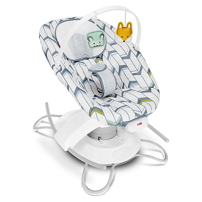 Alternate image 1 for Fisher-Price® 2-in-1 Soothe 'n Play Glider
