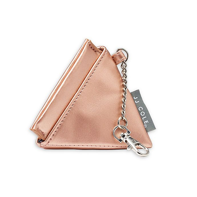 Alternate image 1 for JJ Cole® Pacifier Pyramid in Rose Gold