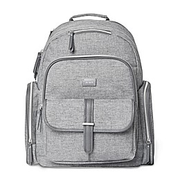 carter's® Stow Away Diaper Bag Backpack in Heather Grey