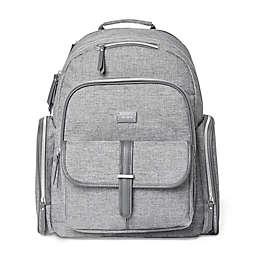 carter's® Stow Away Diaper Bag Backpack in Heather Grey