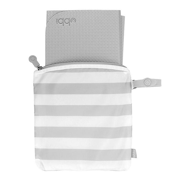 Grey Ubbi On The Go Wipes Dispenser