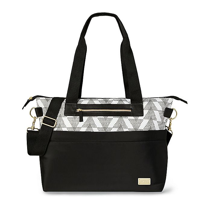 Alternate image 1 for carter's® Always Ready Diaper Tote in Black