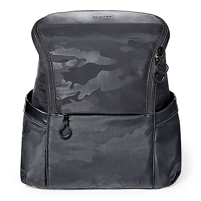Alternate image 1 for SKIP*HOP® Paxwell Backpack Diaper Bag in Black
