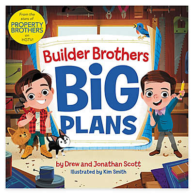 """HarperCollins """"Builder Brothers: Big Plans"""" by Jonathan and Drew Scott"""