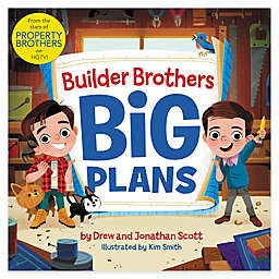 "HarperCollins ""Builder Brothers: Big Plans"" by Jonathan and Drew Scott"