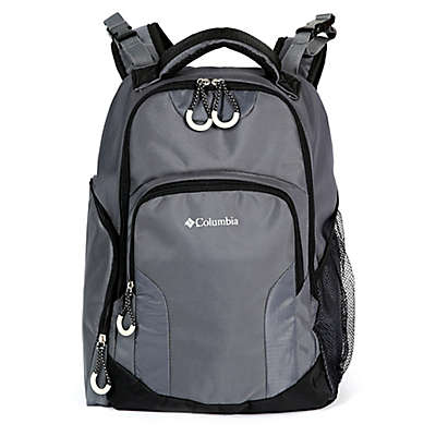 California Innovations Columbia Summit Rush Diaper Backpack in Grey