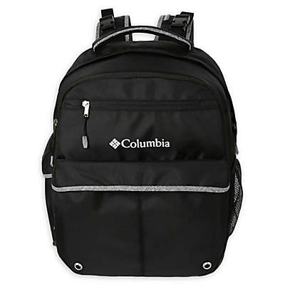 California Innovations Columbia Huntsville Peak Diaper Backpack in Black