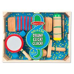 Melissa & Doug® Drum! Click! Clack! Band-In-A-Box